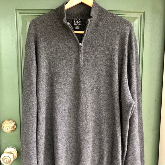 Jos. A. Bank Other - 100% Cashmere Jos. A. Bank Half Zip Sweater